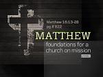 Matthew 16:13-28